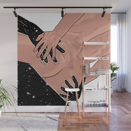 Touch me Wall Mural