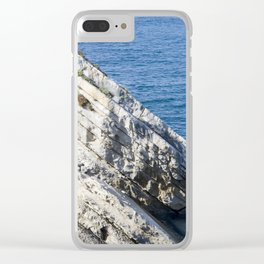 Time Slices Clear iPhone Case