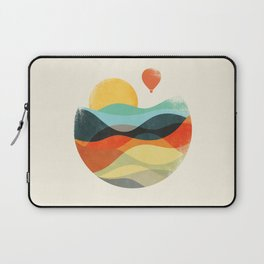 Let the world be your guide Laptop Sleeve