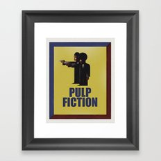 CASSANDRE SPIRIT - Pulp Fiction Framed Art Print