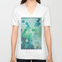 chemistry V-neck T-shirts featuring Chemistry by Esco