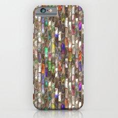 Rainbow Abalone Glass Tile Texture Slim Case iPhone 6