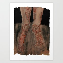 love&hate Art Print