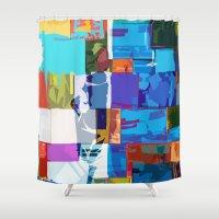 africa Shower Curtains featuring Africa by Fernando Vieira