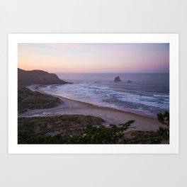 Dunedin Sunrise Art Print