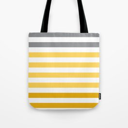 Stripes Gradient - Yellow Tote Bag