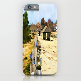 A Stroll Along The Beach iPhone Case