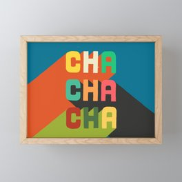 Cha cha cha Framed Mini Art Print