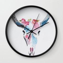 Skull Art Wall Clock