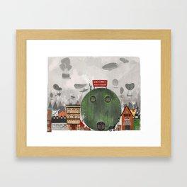 Fletcher´s boiler workshop Framed Art Print