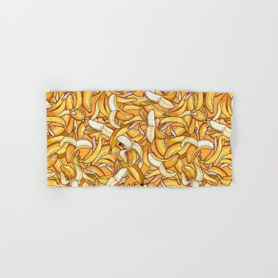 Yellow banana dream. Hand & Bath Towel