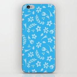 Macy - light blue iPhone Skin