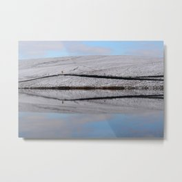 Moor reflections Metal Print