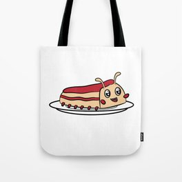 "Cute funny and attractive ""Worm Cake"" tee design. Perfect gift this holiday season to your friends!  Tote Bag"
