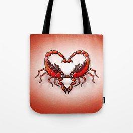 Loving Scorpions Tote Bag