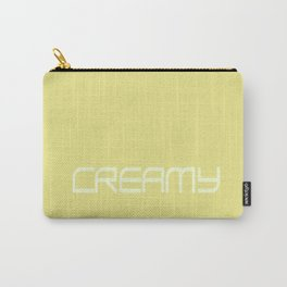 Creamy Carry-All Pouch