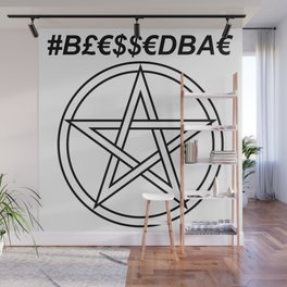 TRULY #BLESSEDBAE INVERSE Wall Mural
