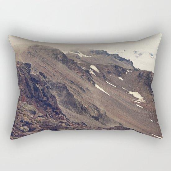 Rocky Mountain Hike Rectangular Pillow