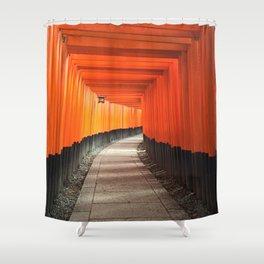 Fushimi Inari Shrine Shower Curtain