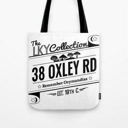 38  Oxley Road Tote Bag