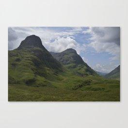 Glencoe Sisters Canvas Print