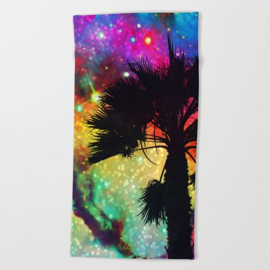 Space Cali Beach Towel