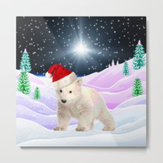 Save My Home | Christmas Spirit Metal Print