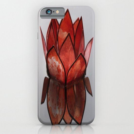 Glass Blossom on Water iPhone & iPod Case