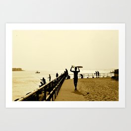 Indian River Inlet Art Print