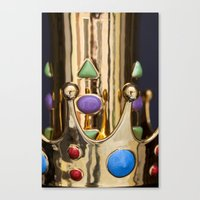crown Canvas Prints featuring Crown by Massimo Merlini