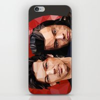 larry stylinson iPhone & iPod Skins featuring Polygonal Larry by Peek At My Dreams