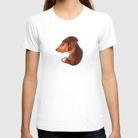 dachshund T-shirts featuring Dachshund by Kendra Aldrich