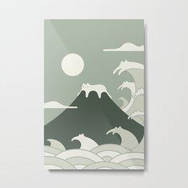 Cat Landscape 108 Metal Print