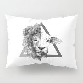 Lion and Lamb Pillow Sham