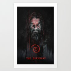 THE REVENANT Art Print