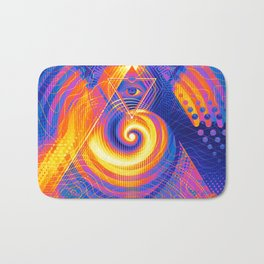 The Great Attractor Bath Mat