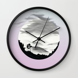 Distant Thunder Starts To Sound Wall Clock
