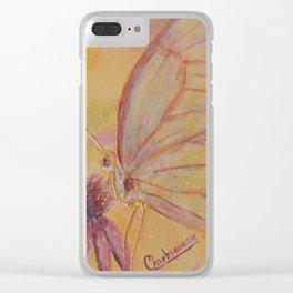 Little mirror butterfly | Petit Miroir papillon Clear iPhone Case