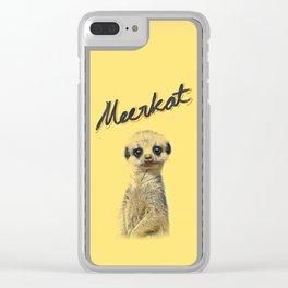 Meerkat | Yellowcard NO.1 Clear iPhone Case