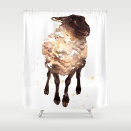 Silly Ewe Shower Curtain
