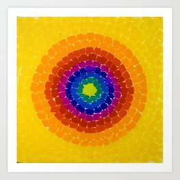 Classical African-American Masterpiece 'Resurrection' by Alma Thomas Art Print