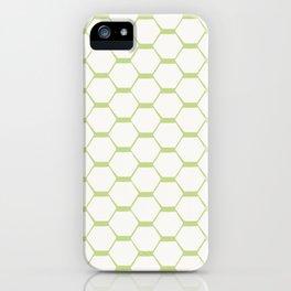 hexagon (2) iPhone Case