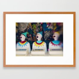 Send in the Clowns Framed Art Print