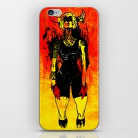 spanish iPhone & iPod Skins featuring Spanish Bull by Eric Bonhomme