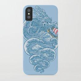hello little dragon iPhone Case