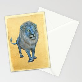 The Wise Lion Stationery Cards