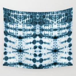 Teal Tribe Shibori Wall Tapestry
