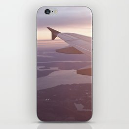 Flying Over the Puget Sound iPhone Skin