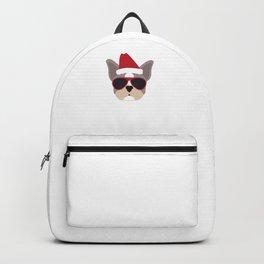 Sleigh All Day French Bulldog Funny Christmas Backpack