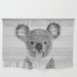 Baby Koala - Black & White Wall Hanging